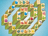 Marine Life: Spiral Mahjong