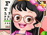 Baby Hazel Optometrist