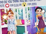 Anna vs Elsa: Fashion Showdown