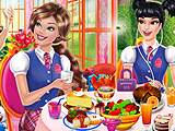 Barbie Princess charm school Hidden objects