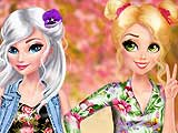 Princesses Pretty In Floral