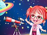 Baby Hazel As Astronomer