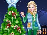 Frozen Christmas Tree