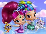 Shimmer and Shine Dress up