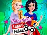 Princesses Funny Prank