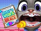 Judy's New Brace