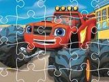 Blaze Trucks Jigsaw