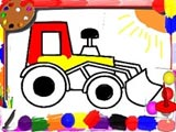 Kids Car Coloring