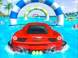 Water Surfing Car Stunts