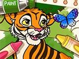 Color Me Jungle Animals