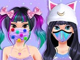 Kawaii Skin Routine Mask Makeover