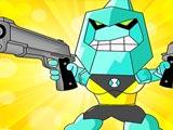 Alien Transform Battle Diamondhead