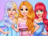 Fashionista Watercolor Fantasy Dress